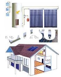 Split Pressurized Solar Water Heater, Heat Pipe Vacuum Tube, Solar Water Heating System