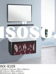 Superior bathroom vanity top cabinet with top grade ceramic basin