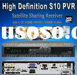 Support HD Set Top Box Tv Receiver ORTON X403p used for southeast Asia