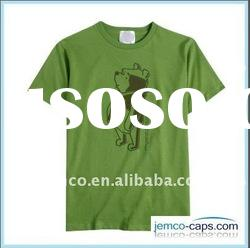 T-shirt with printing logo, cotton twill t-shirt for kids and adult, short sleeve t-shirt