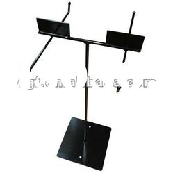 Table Top Metal Display Stand with Metal Sign Plates