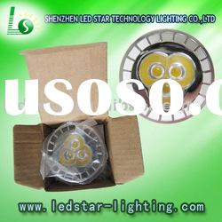 USA 3W(3*1W) MR16 LED spotlight 260LM Recessed lighting, shelf lighting (CE & ROHS) LS-CS-01A