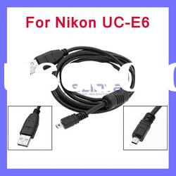 USB Data Cable for Nikon CoolPix UC-E6 Digital Camera