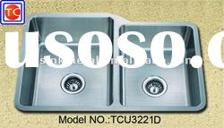 Undermount Corner Stainless Steel Kitchen Sink TCU3221DN
