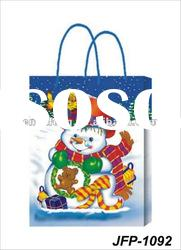 Vogue snowman printing christmas paper gift bags