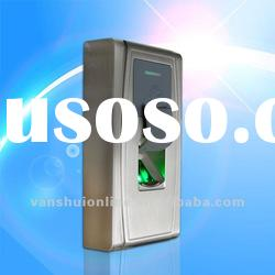 Waterproof outdoor fingerprint access control system