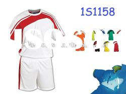 White round neck Dryfit jersey kits Club Team Uniform Soccer Jersey Football Uniform Soccer Uniform