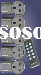 Wireless remote control socket/switch/plug for UK/British
