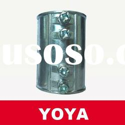 YOYA Aluminum/Zinc/Steel Set Screw EMT Conduit Coupling