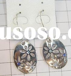 alloy earrings with diamond ,fashion earrings,alloy earrings