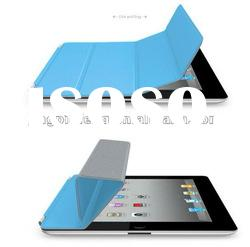auto sleep leather case for apple ipad 2