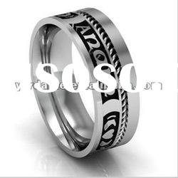 beautiful Mo Anam Cara and Ogham Wedding Style ring