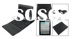 bluetooth 2.0 Keyboard Stand Case Bag for iPad 2, built in rechargeable lithium battery