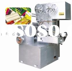 bubble gum, chewing gum QYB-500 cut & fold packing machine
