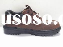 cementing and side stitching low cut safety shoe
