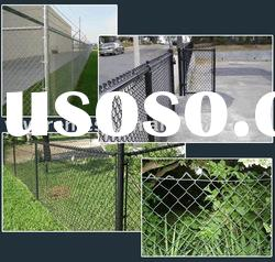 chain link wire mesh fence/diamond wire mesh fence