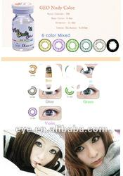 color lens geo 6 color mixed contact lenses