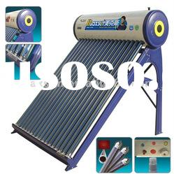 compact vacuum tube solar water heater