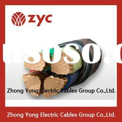 copper conductor PVC insulated NYM power cable