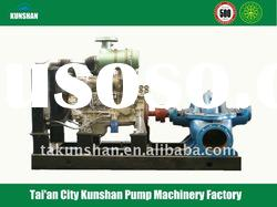diesel engine irrigation water pump of axially splitpump
