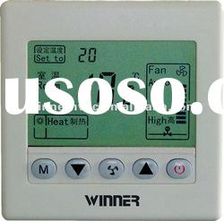 digital new room thermostat for air conditioning with automatic timer