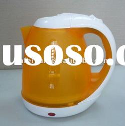 electric kettle/cordless plastic electric kettle(2007B) with SAA CB CE GS ROHS LFGB