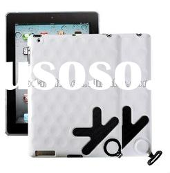 for new Ipad case, made of PU+ PC, with round circle hand feeling, perfect match with you new Ipad