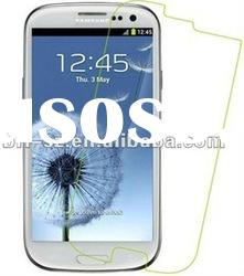full protected clear screen protector for samsung galaxy S3