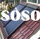 heat pipe solar water heater collector for system