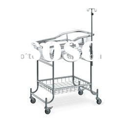 hospital baby cribs *stainless steel frame *bassin can be angle adjustable ...