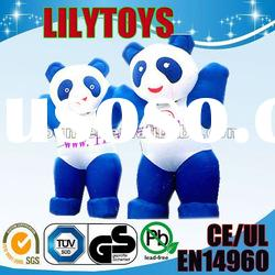 inflatable panda moving cartoon/inflatable moving cartoon/inflatable advertising cartoon