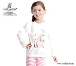 kids t shirts with long sleeves 100% cottont shirts
