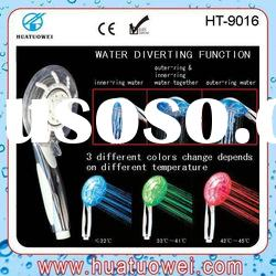 led rain shower led hand shower led faucet shower led shower set (HT-9016)