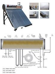 low price and high quality solar water heater