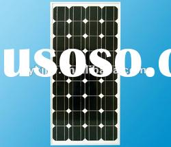 mono solar panel 100w for home system