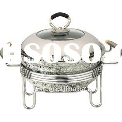 natural marble cookware stock pot
