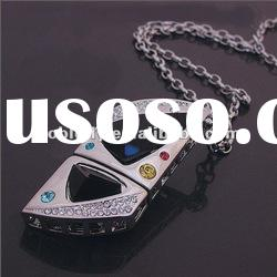 new arrival beautiful jewelry necklace usb flash drive