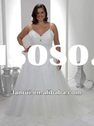 new style luxurious plus size designer wedding dresses