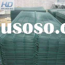 panel 3 D fence,lattice fence panels,welded wire mesh panel fence