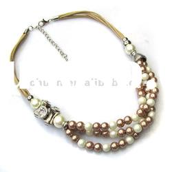 pearl necklace costume jewelry