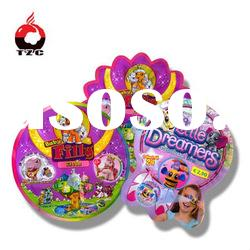 plastic toy bags with bopp /pe