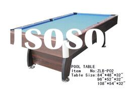 pool table with OEM orders are accepted