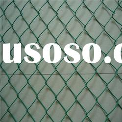 pvc coated chain link fence mild steel mesh price