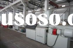 pvc plastic pipe/tube production/extrusion line