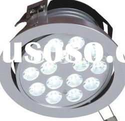 recessed led down lighting 15w