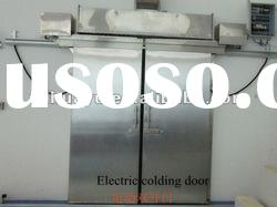 stainless steel electric cold room door of high quality
