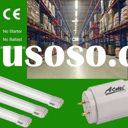 supper market fluorescent T8 energy saving lighting tube