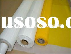 white silk screen mesh polyester printing fabric
