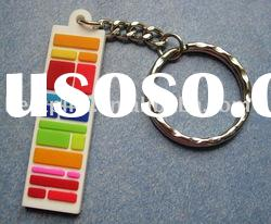 2010 soft PVC key tag