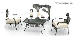 2011HOT- Popular garden set rattan sofa Leisure rattan&wicker furniture PR-054